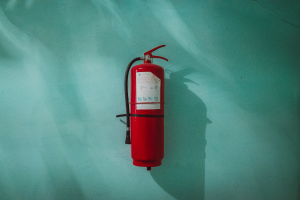 Who is responsible for fire safety in a commercial lease situation? LandLord or Tenant?